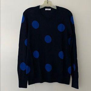 Equipment Polka Dot Sweater